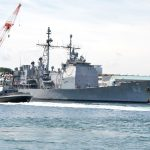 "USS Chancellorsville Earns ASW ""Bloodhound"" Award"