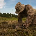Marines and Airmen Conduct FEX to Enhance EOD Skills