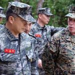 ROK and U.S. Marines Advance as One
