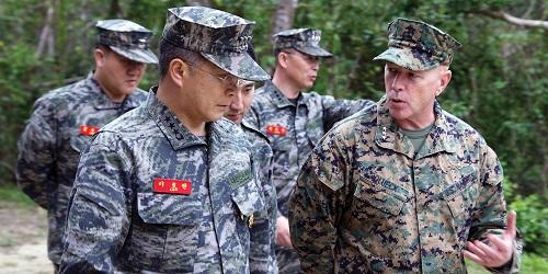 ROK and U.S. Marines