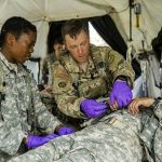 New York Army National Guard Medics Have Double Role in Joint-Readiness Training