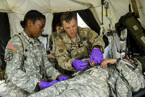 Army National Guard Medics