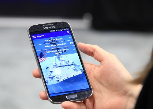 smartphone application for Sailors