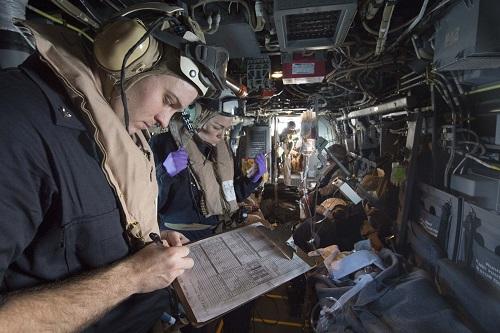 Navy's First Flight Medic Course