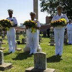 Spain and US Honor Fallen Sailors During Wreath Laying Ceremony
