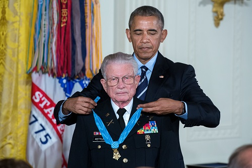 Vietnam Aviator Awarded Medal of Honor