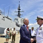 Navy Tests Latest Aegis Weapon System Interoperability with Spanish Navy