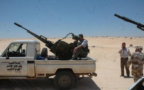 Testing Civilian Trucks