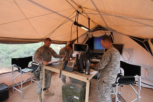 mobile and expeditionary command posts