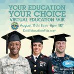 DoD's Voluntary Education Virtual Education Fair Helps Answer Education Questions