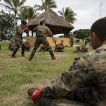 U.S. Marines Dive Into French Commando Course During Exercise AmeriCal 16