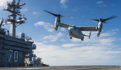 V-22 Osprey Fleet Battle Experiment