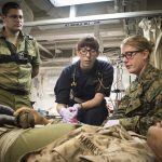 Navy Surgeon General Emphasizes Importance of Research to Warfighter Survivability
