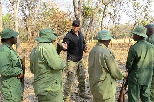 Soldiers Help Combat Poaching