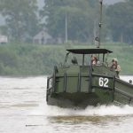 Kentucky Army Guard Bridging Unit Tests Army's New XM30 Bridge Erection Boat