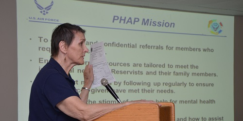 Air Force Reserve Command's Psychological Health Advocacy Program