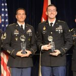 Winners of the Best Warrior Competition: EOD Specialist, Reserve Drill Sgt. Earn Soldier, NCO of Year