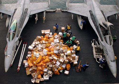 Navy postal operations