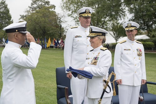 Chief of Navy Reserve Retires