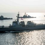 Forward-Deployed Destroyers Demonstrate Skill in Joint Exercises as Premier Ships in C7F