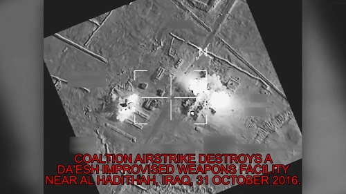 Coalition Airstrike