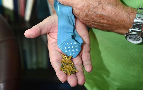 Medal of Honor Recipient Reflects