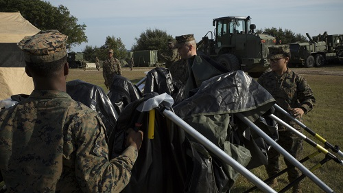 Combat Logistics Battalion 6 Exercise