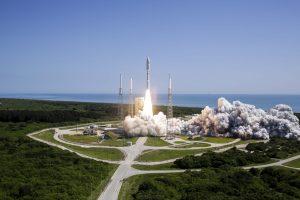 MUOS-5 Satellite