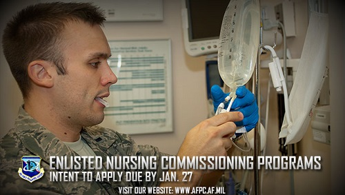 Nurse Enlisted and Direct Enlisted Commissioning Programs