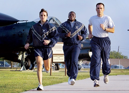 Air Force Physical Fitness Assessment Courses