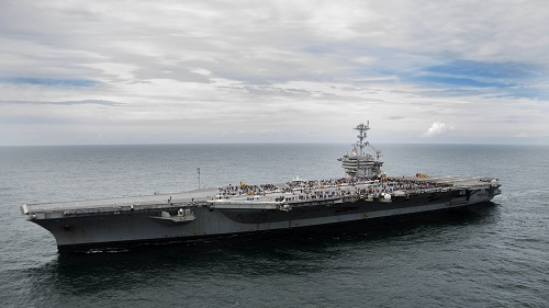 Navy Celebrates Aircraft Carriers