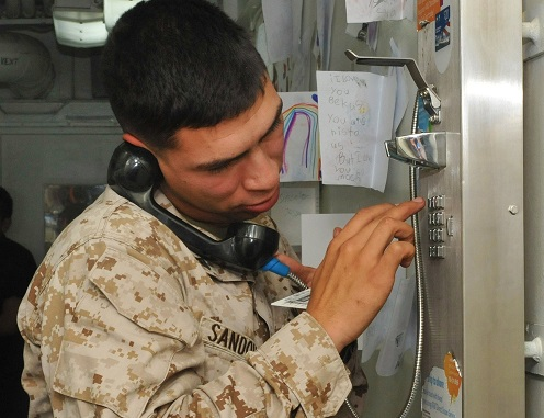 Free Phone Cards to Deployed