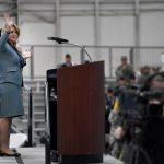 Secretary of the Air Force Deborah Lee James Bids Farewell as SecAF