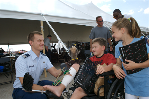 Air Force Program Assists Special Needs Family Members