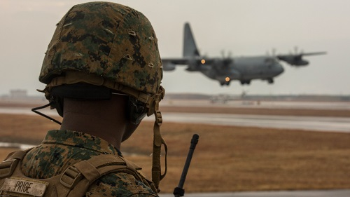 Aircraft Landing Zone Training