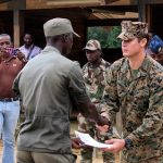 Gabon and U.S. Train to Fight Illicit Activity During Training Exercise at Camp Mokekou