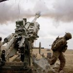 Artillery Gun Crews Mass Fire with NATO Allies in Grafenwoehr Training Area