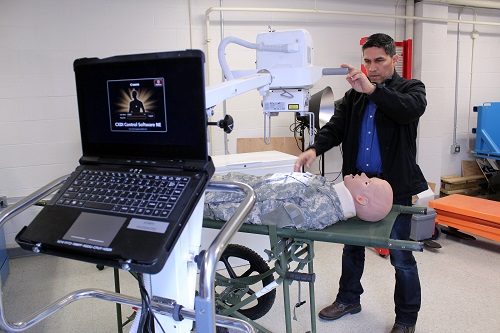 Portable Battlefield Radiography System