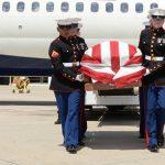 Marine Recalls Experience Escorting Fallen WWII Vet Home