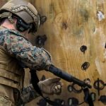 Breaching Exercise: Recon Marines Let Themselves In