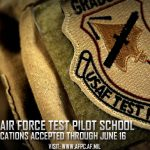 U.S. Air Force Test Pilot School Applications Due June 16