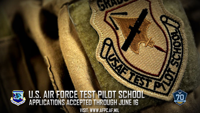 Test Pilot School Applications