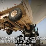 Follow-On Options Available to Airmen Who Volunteer for Extended 365-Day Deployment