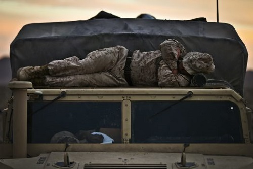 How do Marines Sleep