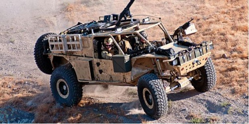 Storm Search and Rescue Tactical Vehicle