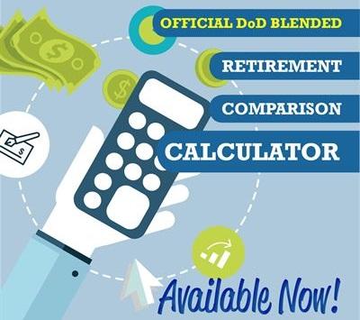 Blended Retirement Comparison calculator