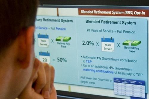 Blended Retirement System Comparison Calculator