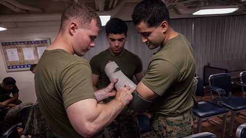 Combat Life Saver course