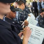 Enlisted Surface Warfare Specialists Get Pinned in Port