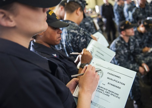 Enlisted Surface Warfare Specialists